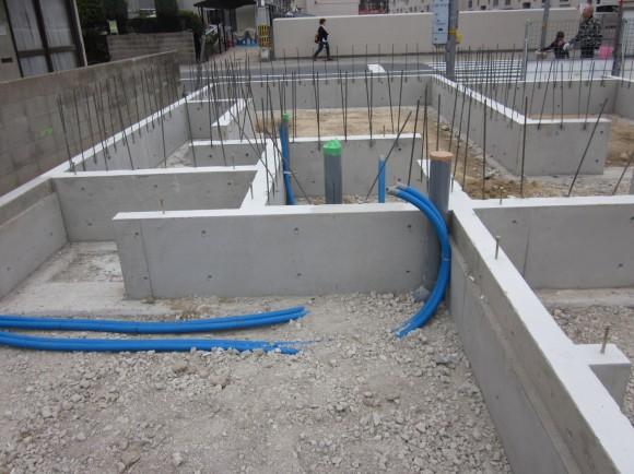 4.17型枠解体 設備配管