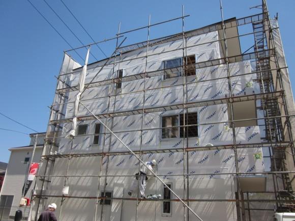 140414サイディング施工