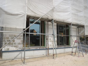 東区k様邸サイディング施工