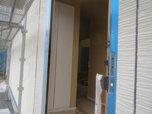 27.8.24光市S様邸外壁施工